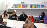Dr. Smiley at KIPP College Prep